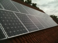 3.88 Kwp Sharp install, Horsford