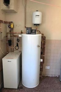 Oil Boiler/Unvented HW Cylinder