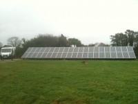 8kWp Ground Mounted Array