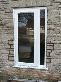 Converted window into a door