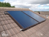 Completed Solar Thermal Installation