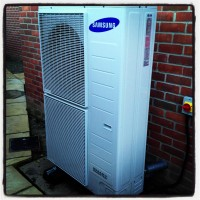 Air Source Heat Pump Installation