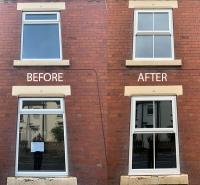 New Windows with Sash Horn & Astragal Bars