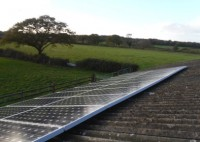 Solar PV system to Barn Roof in the New Forest