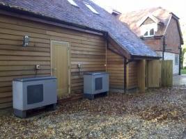 Biomass and Nibe Heat pumps