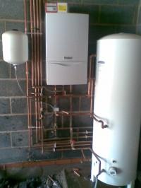 Vaillant boiler.. Gled Hill cylinder