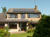 4 kWp of Sanyo Solar Modules in Harrogate