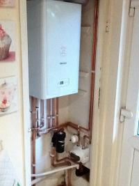 combination boiler installation 01