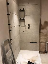 Bathroom installation.