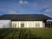 MODERN CHURCH WITH 11KW OF P.V ON A SLATE ROOF