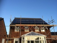 All Black 4kWp system in Warrington