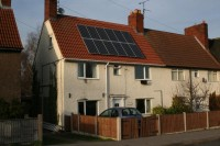 2.16kWp BP Solar Panel Photovoltaic System, Clipstone, Mansfield, Nottingham.