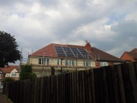 16X250瓦特太阳能光伏组件 - 伯明翰