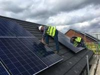 New Build Solar PV Installation