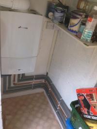 Worcester boiler install