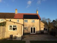 Air Source Heat Pump Dimplex LA9-MI installed at Surrey home during refurbishment