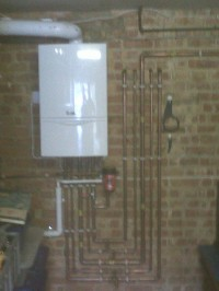 Vaillant Condensing boiler installation by LWL Heating