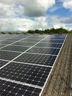 24kw Solar PV panels on a Garden Centre in Banbury