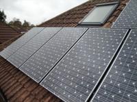 Leeds PV Installation SANYO HIT240W Panels.