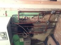 Old messy pipe work