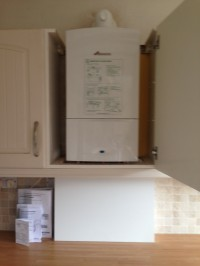 worcester 30si compact fitted inside a cupboard