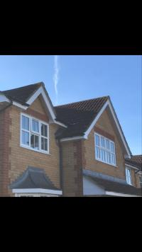 Guttering soffit and fascias