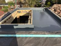 Skylight + fiberglass installation