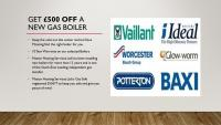 £500 discount off your new boiler