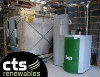 Okofen Suction feed biomass boiler