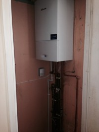 boiler installed in dartington