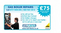 Full Flame Boiler Repair