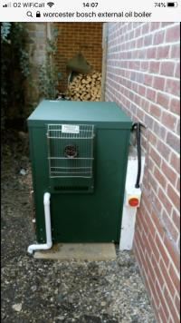 Oil boiler from Worcester Bosch