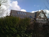 New build Ponteland ASHP + UFH + Solar Thermal