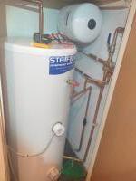 Unvented cylindar Installation