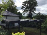 Specialist garden solar install
