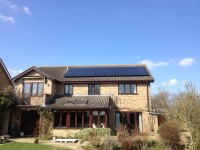 4.0 KWP- Gallium Modules -Huntingdon- Completed April 2013