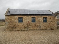3.5 kWp of Hyundai Solar Modules in Co Durham