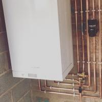 New Viessmann boiler installation