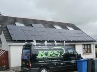 Domestic Solar - Black panels