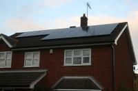 Midlands Solar 3.84kWp Sanyo HIT240 & Sunny Boy SB3800 Inverter.