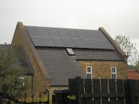 4 kWp of Hyundai Solar Modules in Co Durham