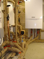 Vaillant system installed in a loft