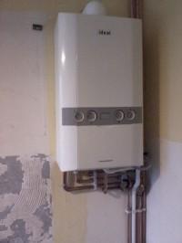 Combi boiler conversion.