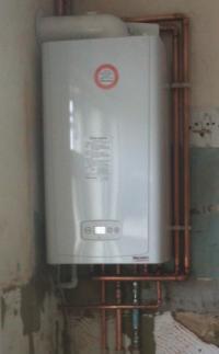 BEFORE - Boiler Installation