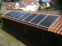 4.0 kwp install- Burgh Castle