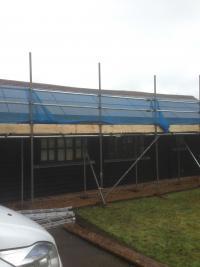 4kWp Solar PV array using Perlight 250w all black modules.