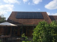 SunPower panels installed by Oxford Solar PV