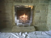 Gas Fire Installation by LWL Heating