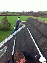 Me on the roof . ha