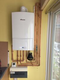 New combination boiler replacement
